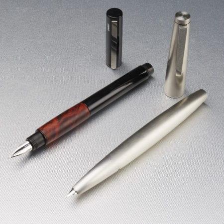 Lot 090: Lot of 2 Lamy Fountain Pens Fine Pens & Writing Instruments - Nov 9 2018 Fine Pens