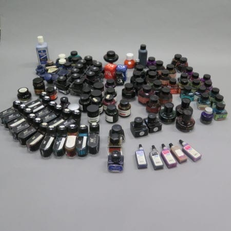 Lot 096: Large Group of 121 Inks Fine Pens & Writing Instruments - Nov 9 2018 Fine Pens