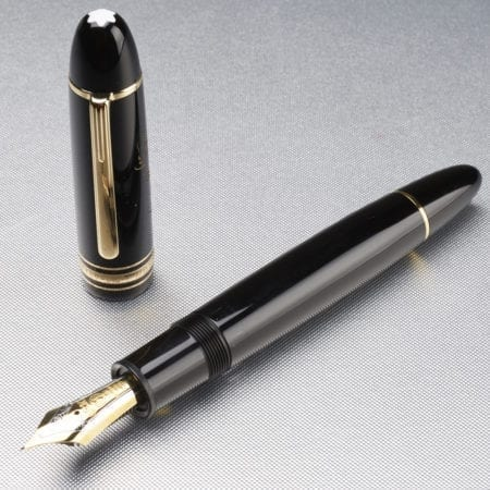 """Lot 052: Montblanc Barack Obama """"Yes we can"""" Fountain Pen Fine Pens & Writing Instruments - Nov 9 2018 Fine Pens"""