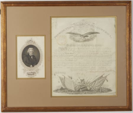 Lot 073: One Andrew Jackson Signed Historical Document Fine and Decorative Arts of the Globe - Jan 19 2019 Art of World