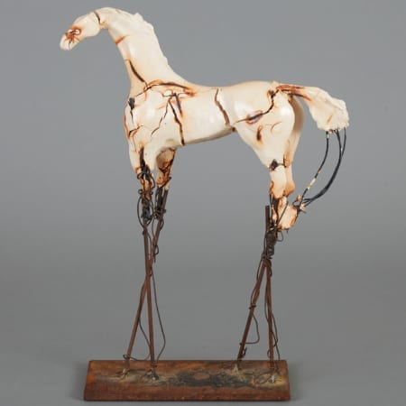 Lot 079: Carl Dahl Bronze and Porcelain Horse Sculpture Fine and Decorative Arts of the Globe - Jan 19 2019 Art of World