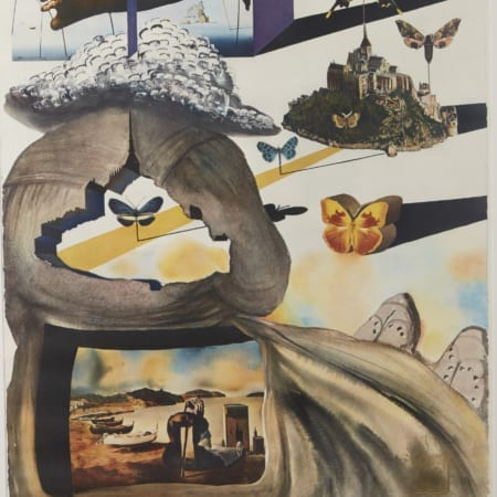 Lot 051: Salvador Dali Normandie Color Lithograph Fine and Decorative Arts of the Globe - Jan 19 2019 Art of World