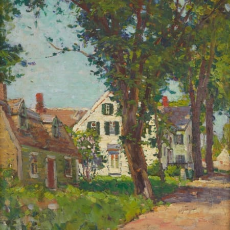 Lot 021: Anthony Thieme Oil on Board Rockport Painting Fine and Decorative Arts of the Globe - Jan 19 2019 Fine Art