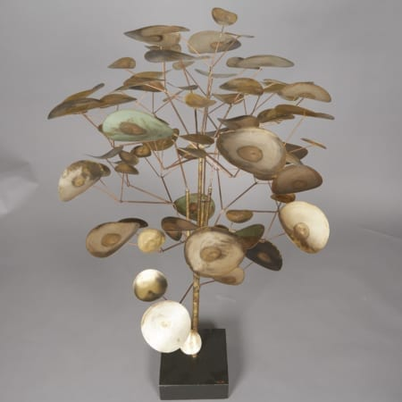 Lot 093: Curtis Jere Metal Tree Sculpture Fine and Decorative Arts of the Globe - Jan 19 2019 Art of World