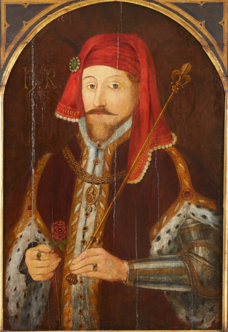 Lot 013: 17th century English School Portrait Painting of Henry IV Oil on Panel Fine and Decorative Arts of the Globe - Jan 19 2019 Fine Art
