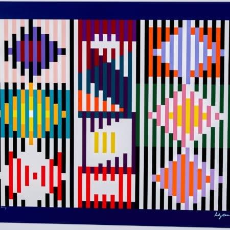 Lot 063: Yaacov Agam Beyond Silkscreen Optical Art Fine and Decorative Arts of the Globe - Jan 19 2019 Fine Art