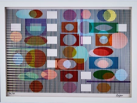 Lot 065: Yaacov Agam Poly Meta #3 Agamograph Fine and Decorative Arts of the Globe - Jan 19 2019 Decorative Arts
