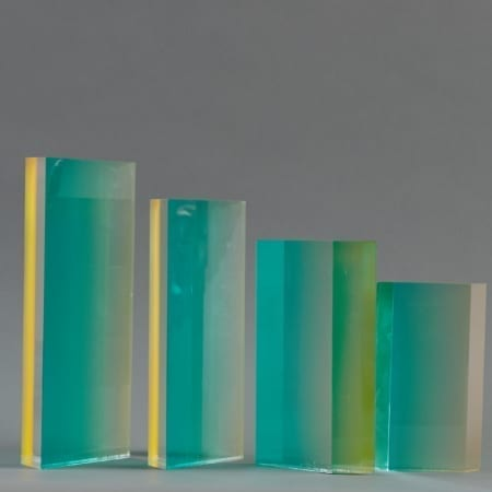 Lot 085: Group of 4 Velizar Mihich VASA Acrylic Sculptures Fine and Decorative Arts of the Globe - Jan 19 2019 Art of World