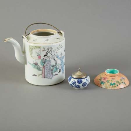 Lot 146: Group of Chinese Porcelain Objects – Marked Fine and Decorative Arts of the Globe - Jan 19 2019 Fine Art