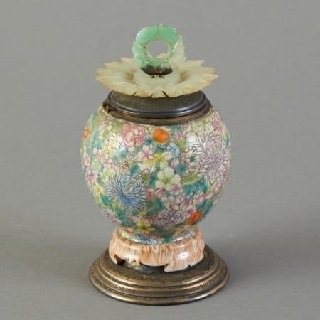 Lot 148: Chinese Porcelain Edward Farmer Inkwell Fine and Decorative Arts of the Globe - Jan 19 2019 Decorative Arts
