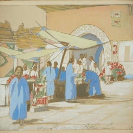 Lot 160: Bertha Lum Woodblock Print Watercolor Fine and Decorative Arts of the Globe - Jan 19 2019 Art of World