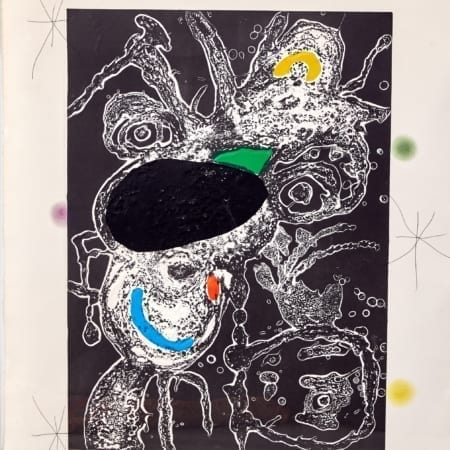 Lot 055: Joan Miro Espriu Aquatint Etching on Paper D.871 Fine and Decorative Arts of the Globe - Jan 19 2019 Art of World