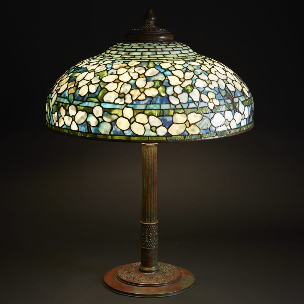 Louis Comfort Tiffany The Man The Lamps The Legend Revere Auctions