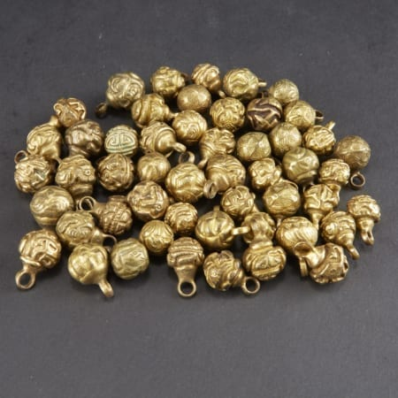 Lot 006: Large Collection of Chinese Gilt Bronze Robe Buttons Asian Art and Decorative Art (Day Two) - Sep 29 2018 Asian Art