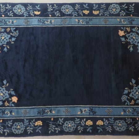 Lot 102: 3 Antique Chinese Wool Hand Knotted Rugs – 19th/20th century Fine and Decorative Arts of the Globe - Jan 19 2019 Art of World