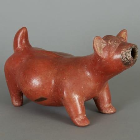 Lot 178: Pre-Columbian Colima Dog Statue Fine and Decorative Arts of the Globe - Jan 19 2019 Historic