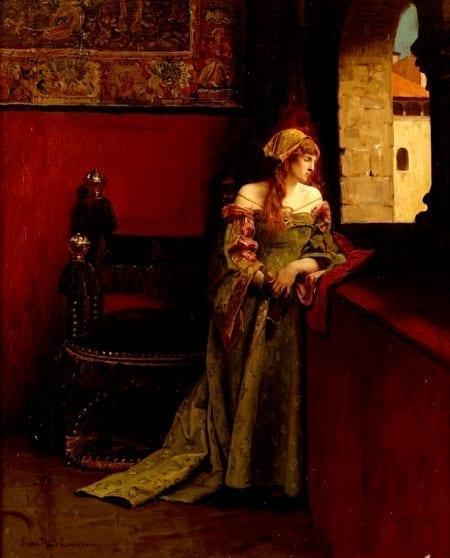 Lot 014: Jean Paul Laurens Lucretia Borgia Oil Painting Fine and Decorative Arts of the Globe - Jan 19 2019 Art of World