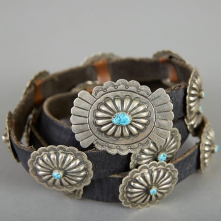 Lot 288: Navajo Women's Concho Belt c. 1935 Fine and Decorative Arts of the Globe - Jan 19 2019 Art of World