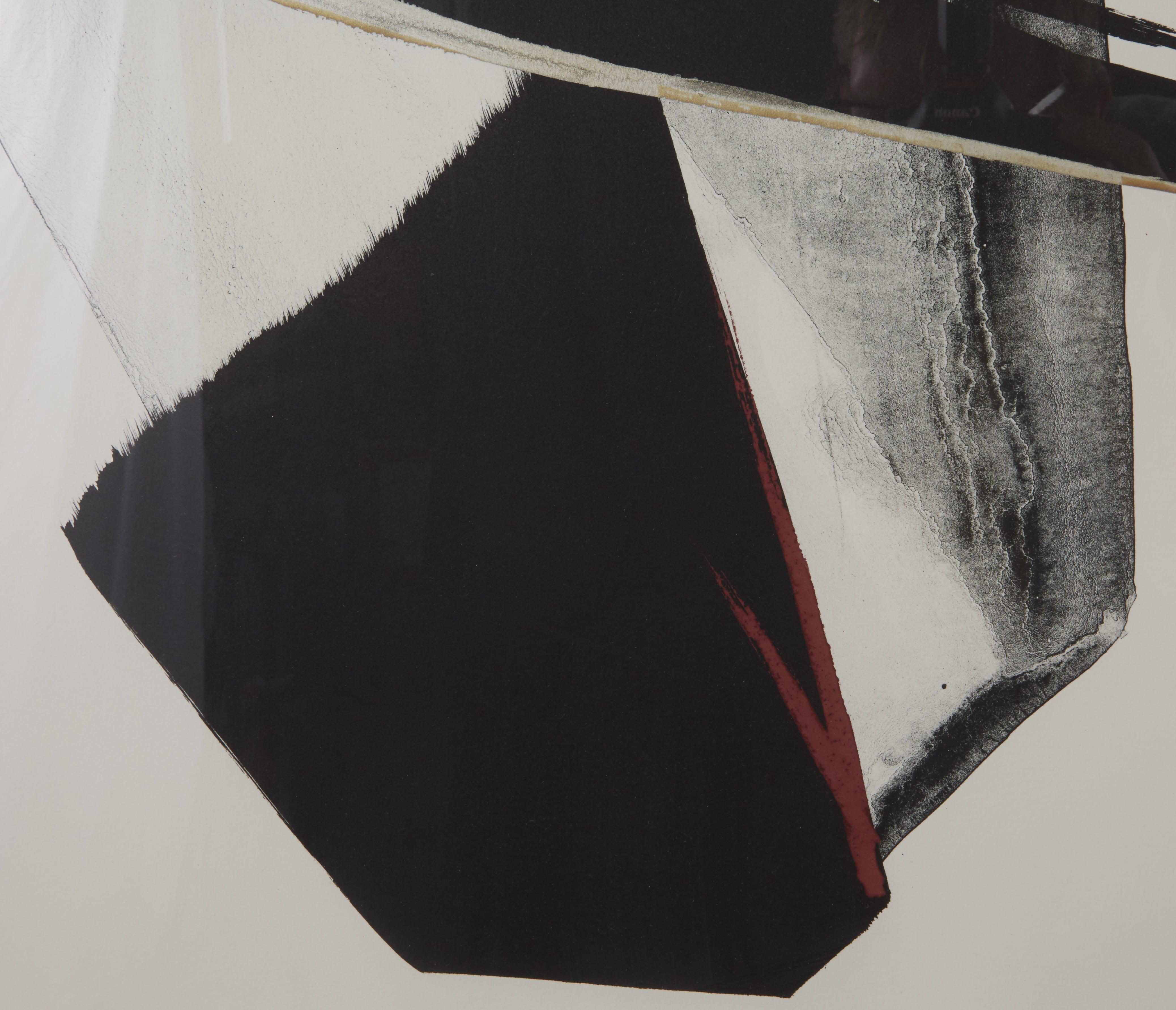 """Lot 240: Japanese Toko Shinoda """"Soaring"""" Ink Print"""