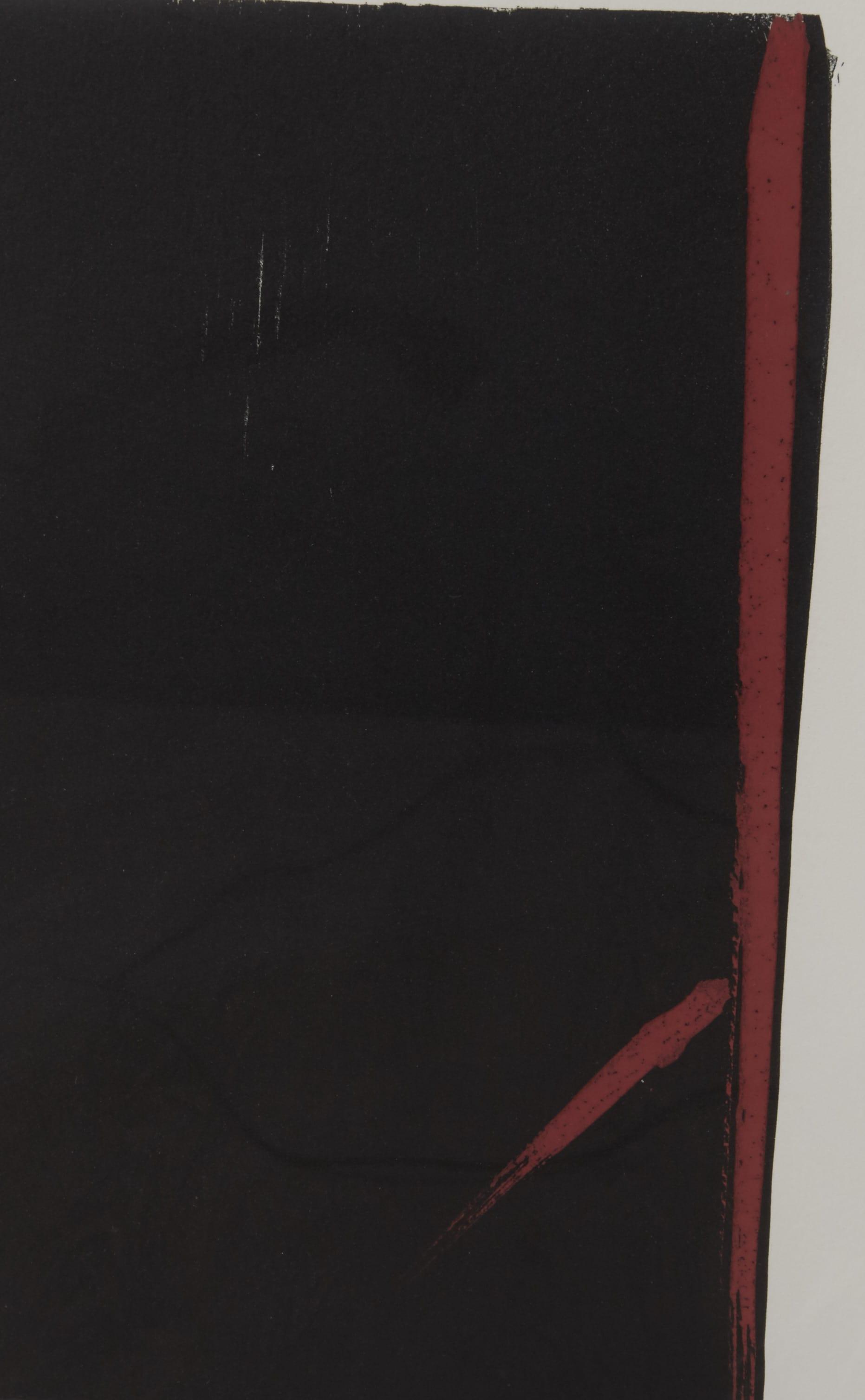 "Lot 242: Japanese Toko Shinoda ""Shady-Sunny"" Woodblock Print"