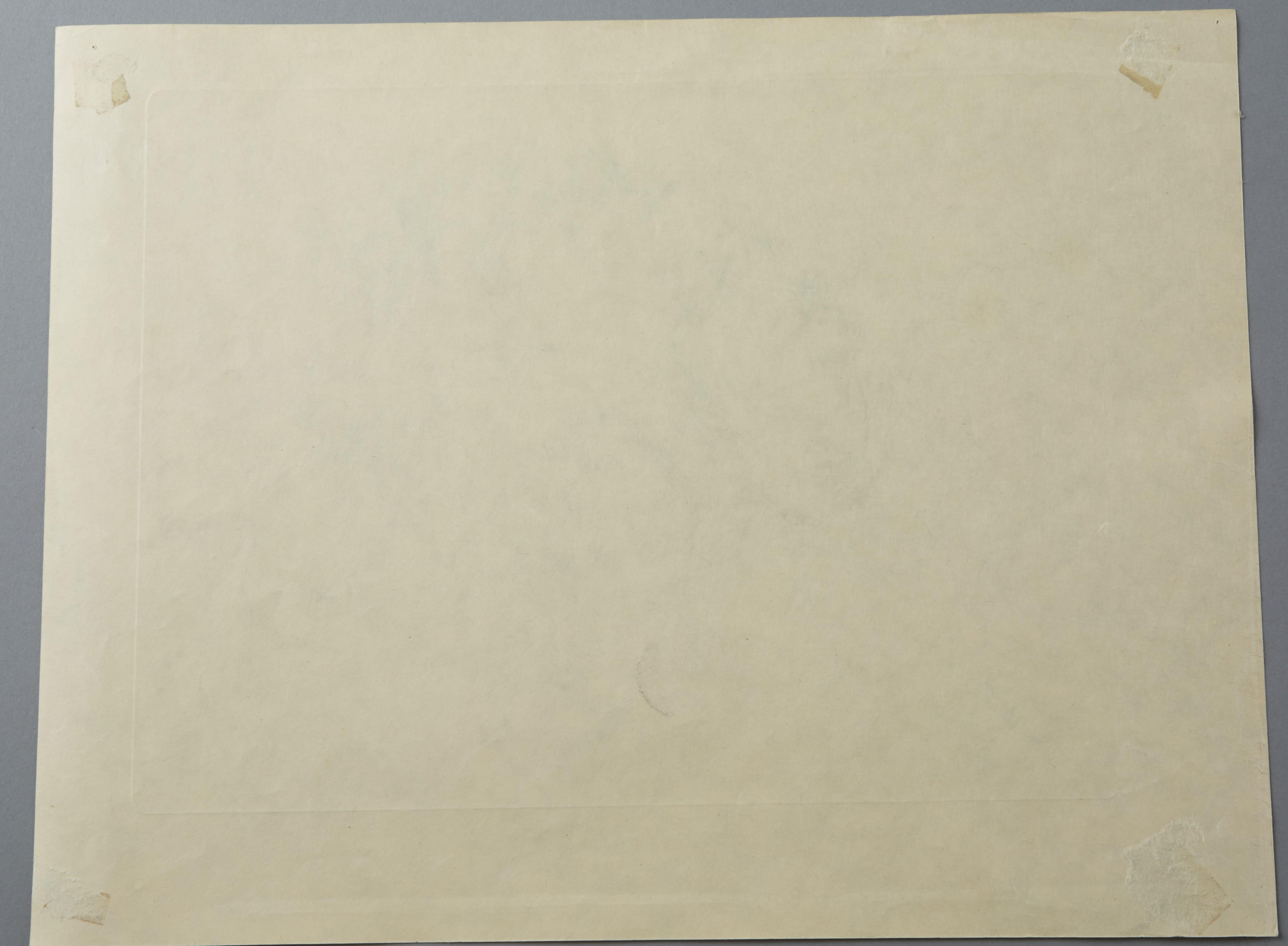 "Lot 255: Leonard Tsuguharu Foujita Collotype Print ""Pasitea"" from A Book of Cats"