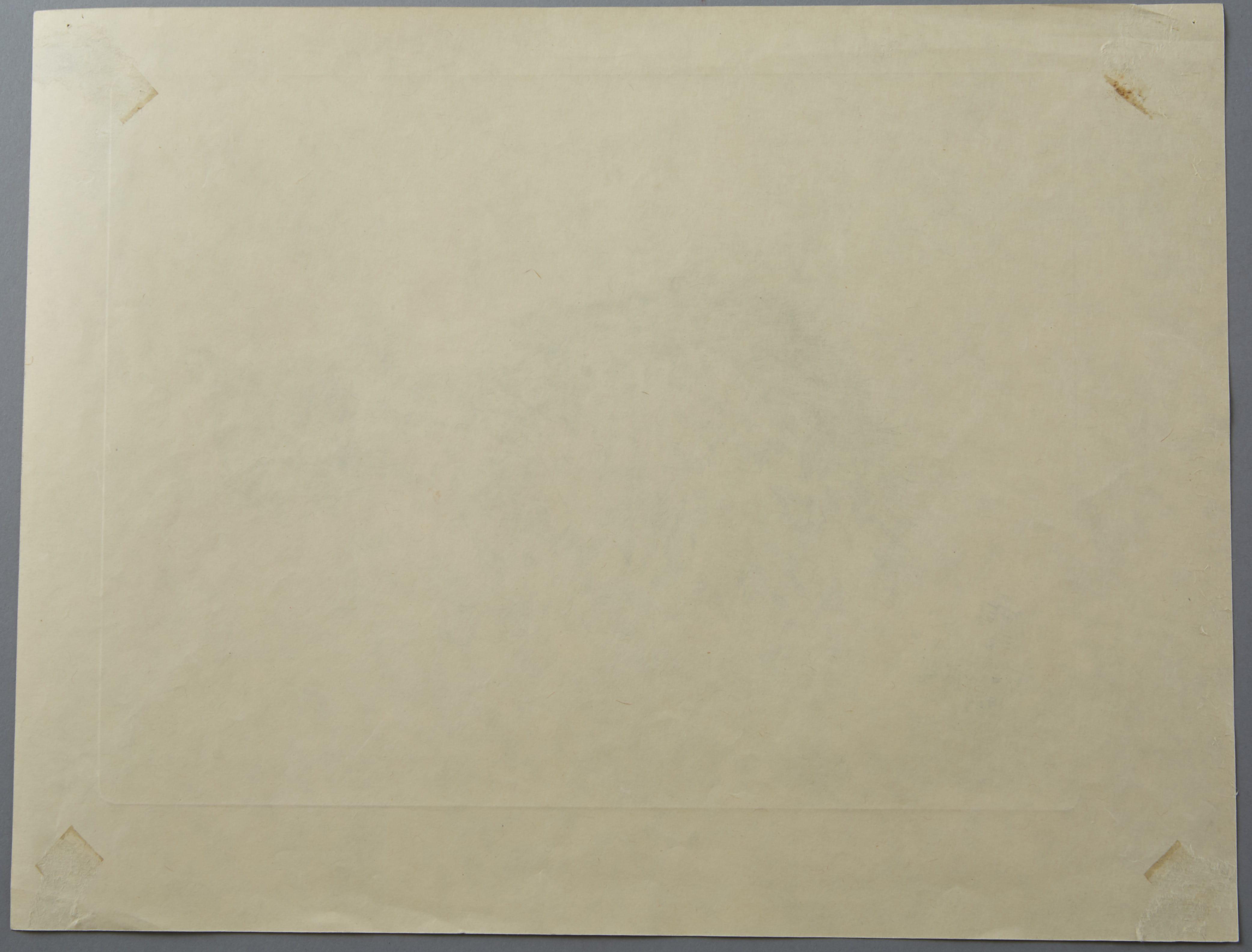 "Lot 258: Leonard Tsuguharu Foujita Collotype Print ""Sappho"" from A Book of Cats"
