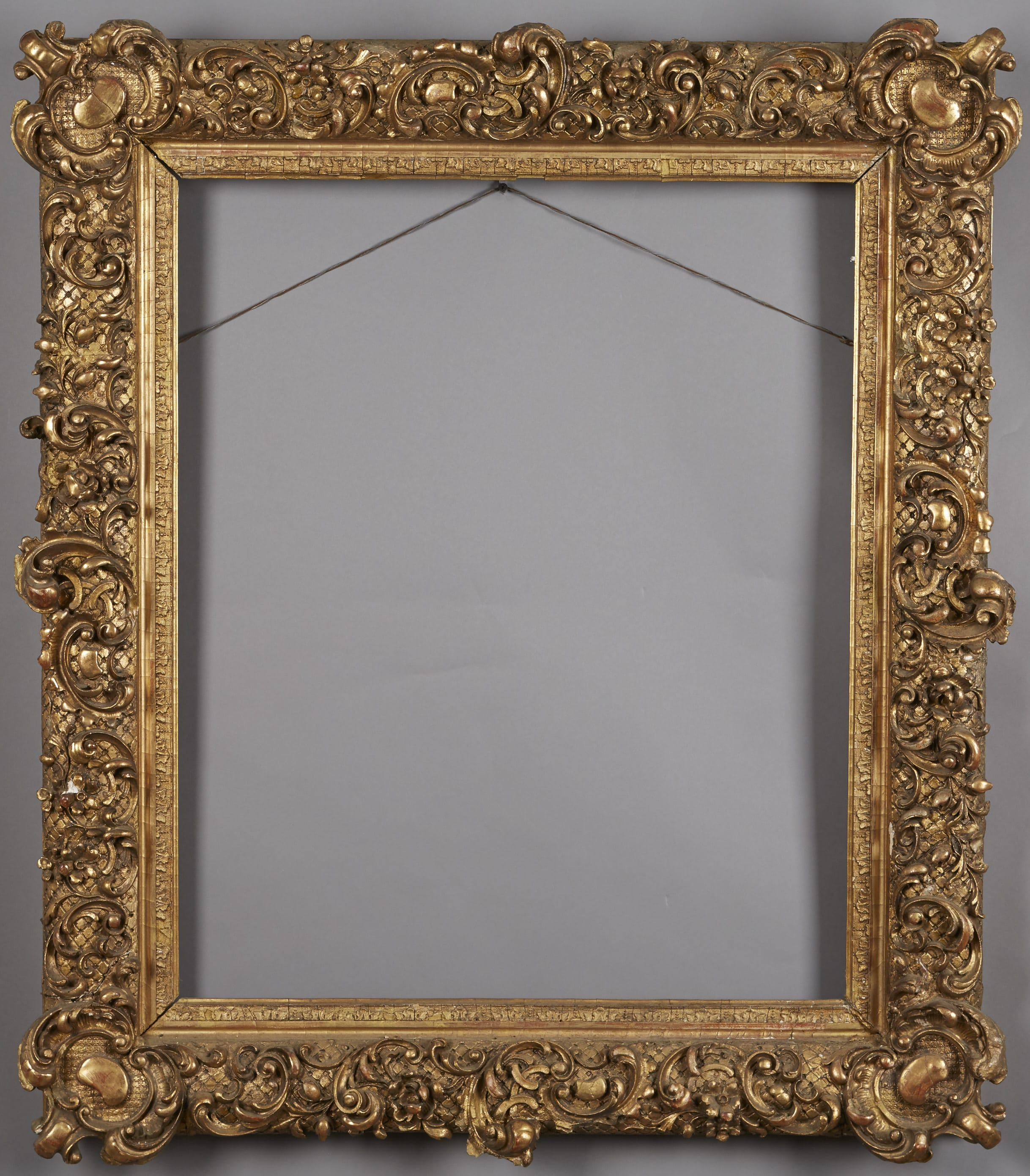 Lot 143: Large Gilt Ornate Frame