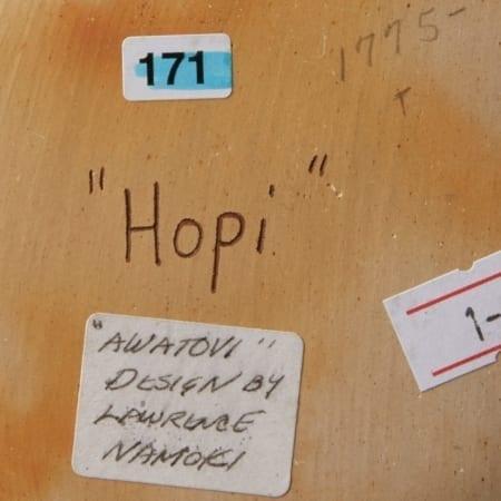 Lot 016: Group of 4 Lawrence Namoki Hopi Carved Jars
