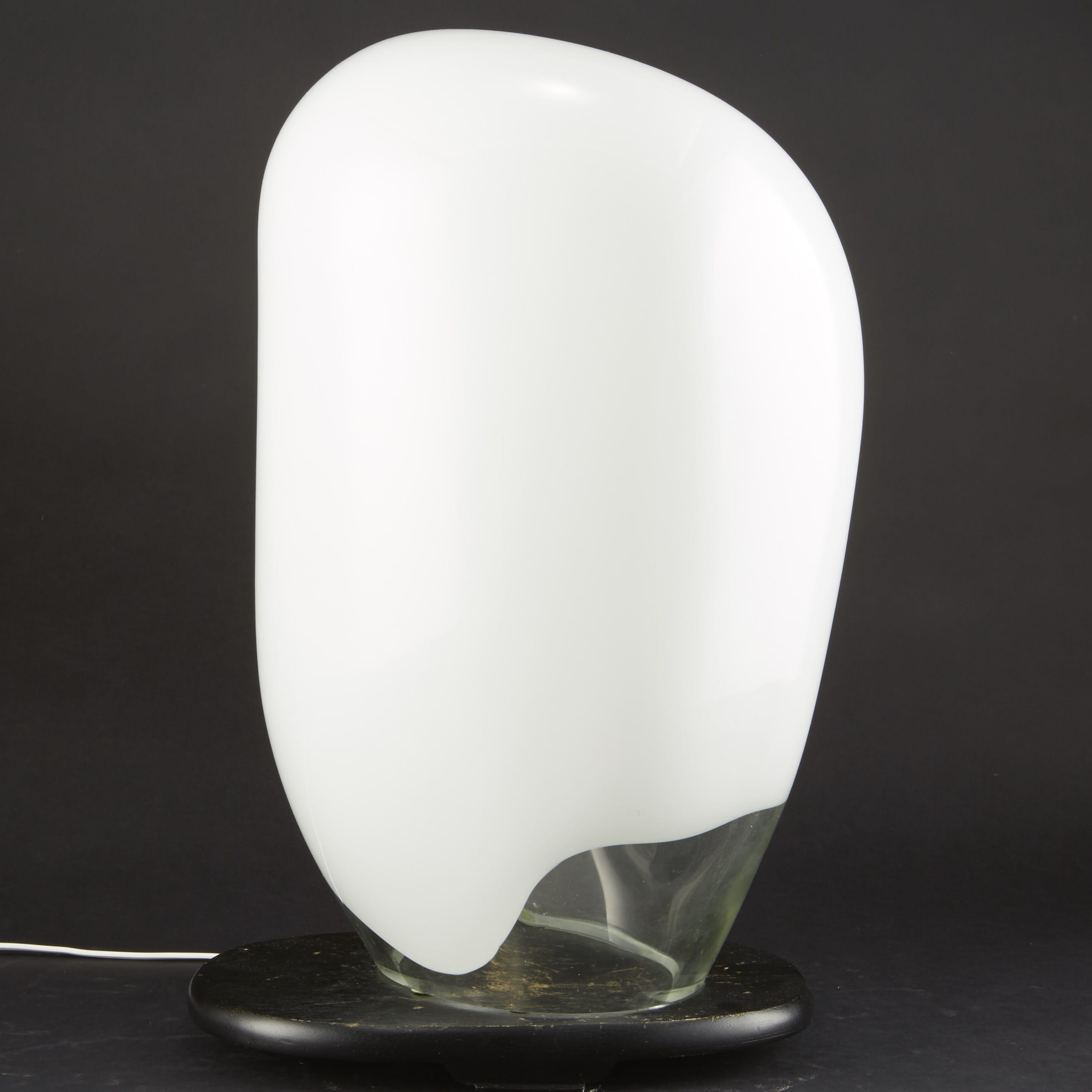 Lot 161: Vistosi Italian Glass Lamp