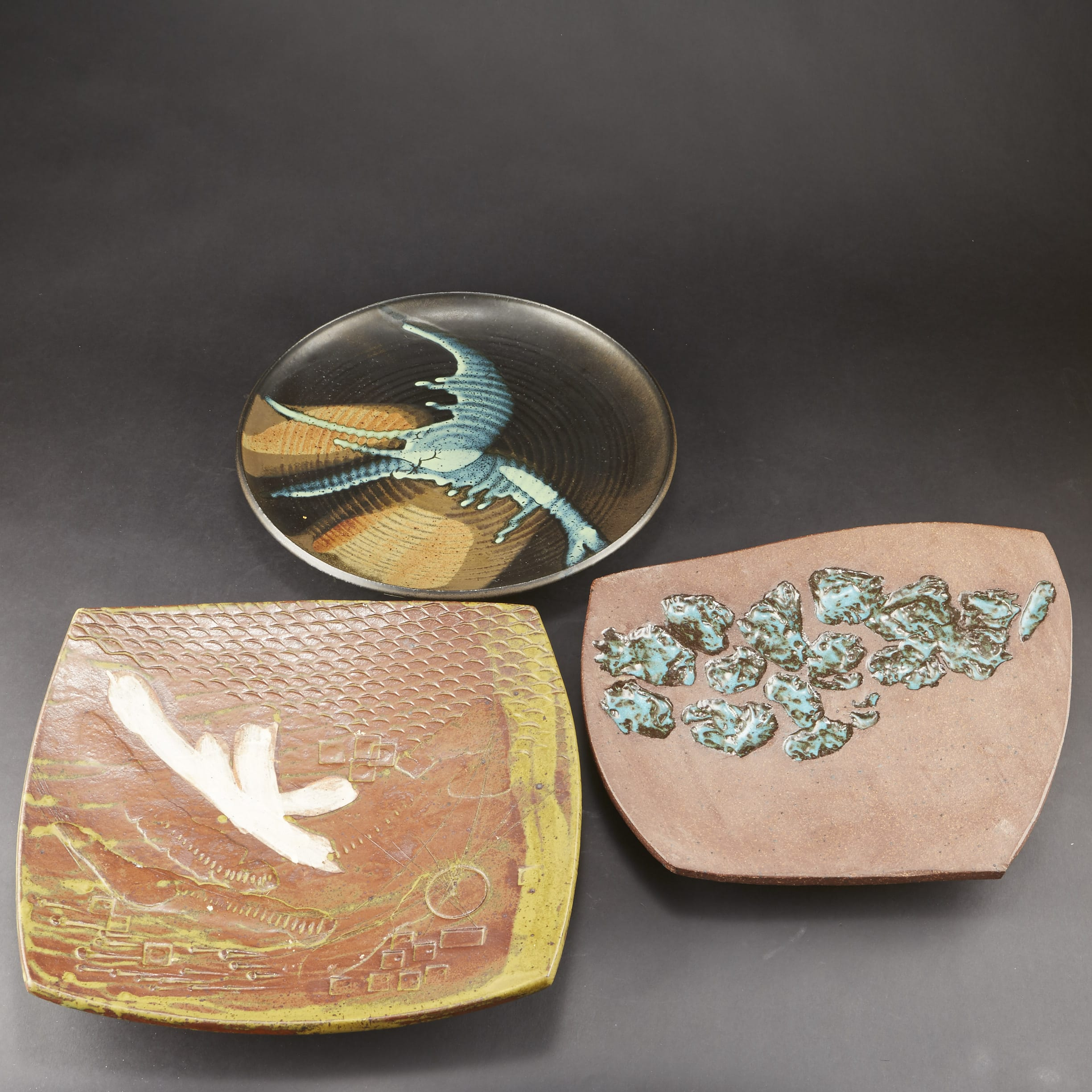 Lot 149: Three Joel Edwards Trays