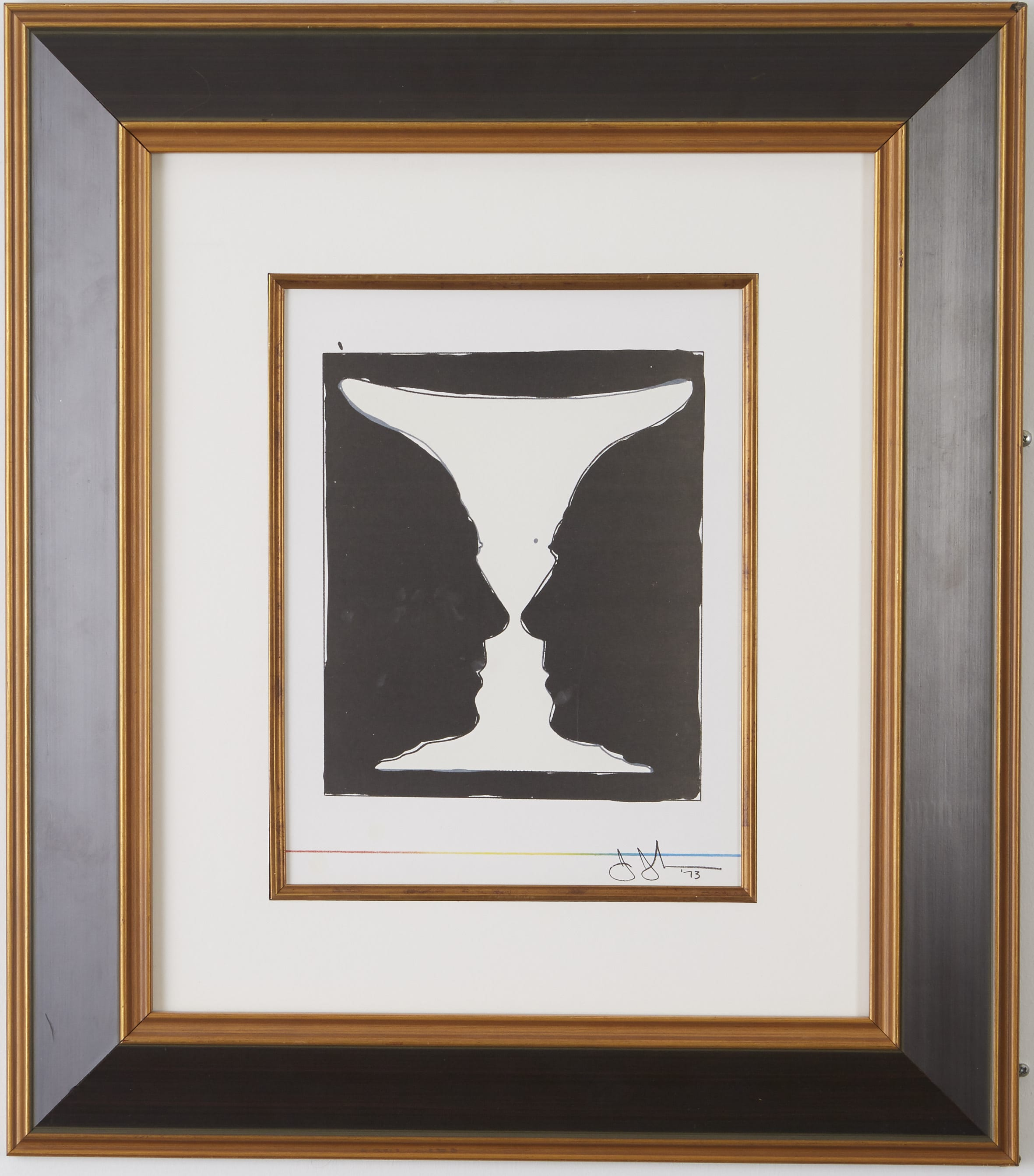 Lot 243: Jasper Johns Cup 2 Picasso Lithograph
