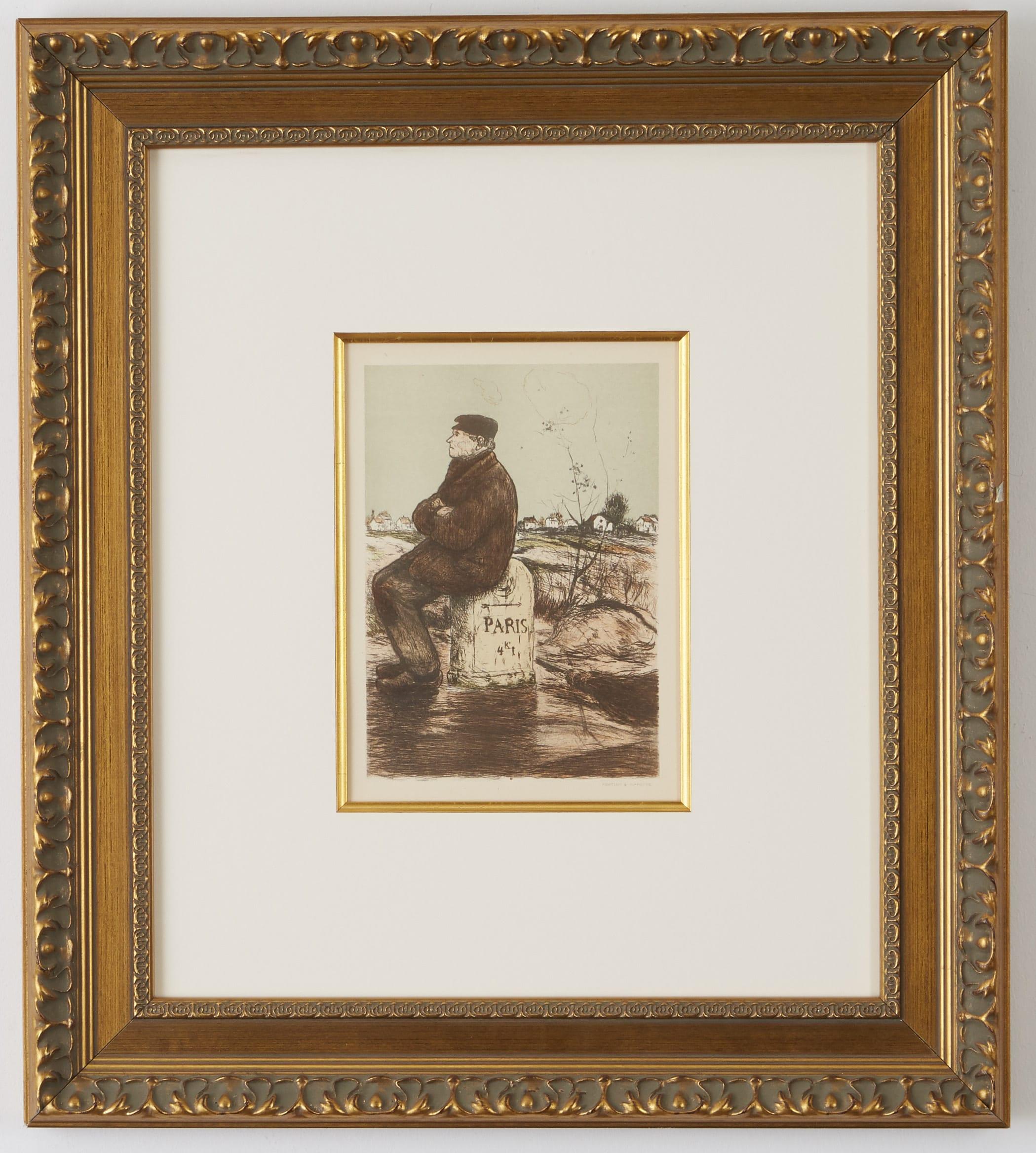Lot 251: 7 Impressionist Pieces Monet Sisley Degas etc.
