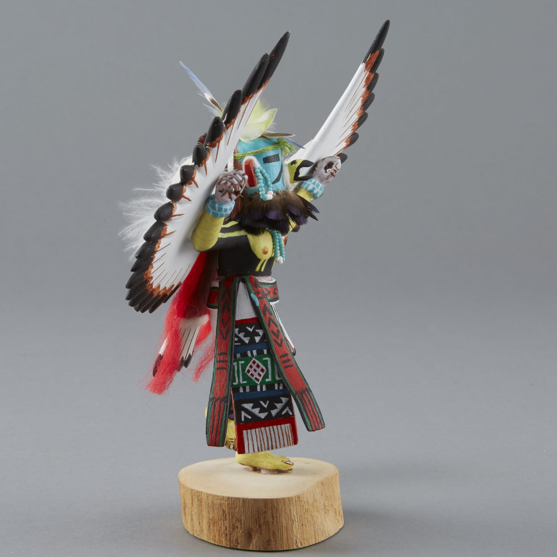 Lot 098: Mary Shelton Dancing Eagle Kachina