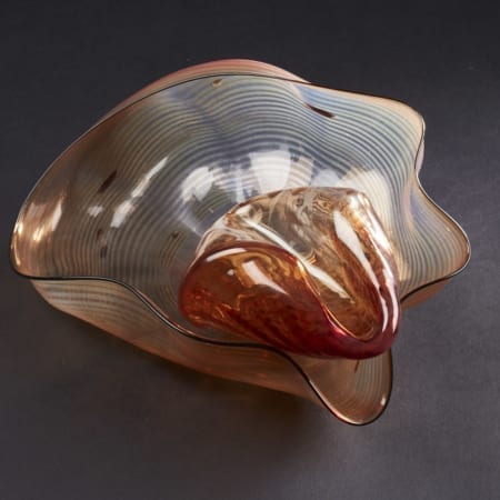 Lot 051: Chihuly 2 Piece Seaform Set