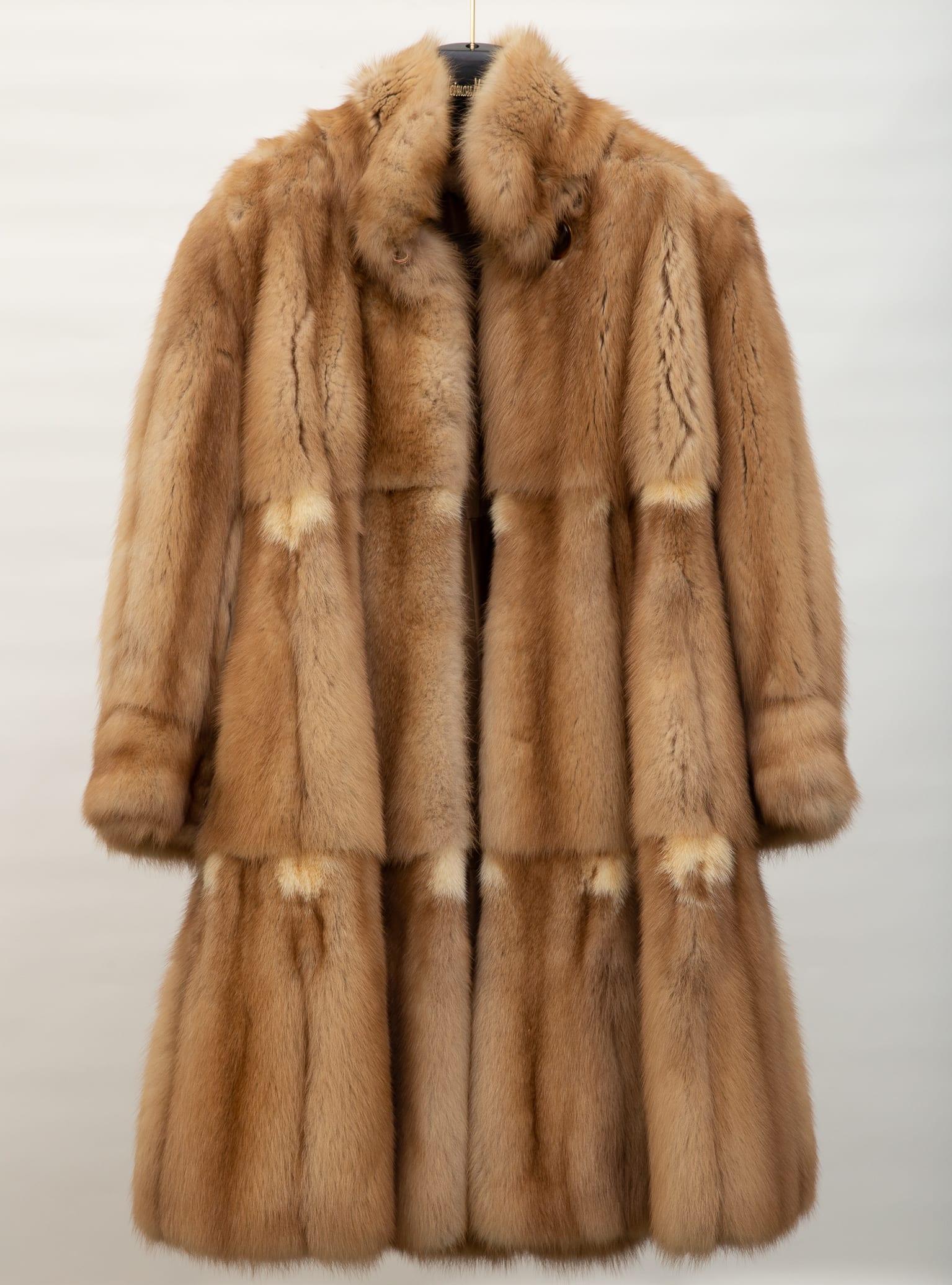 Lot 115: NH Rosenthal Furs Sable Coat