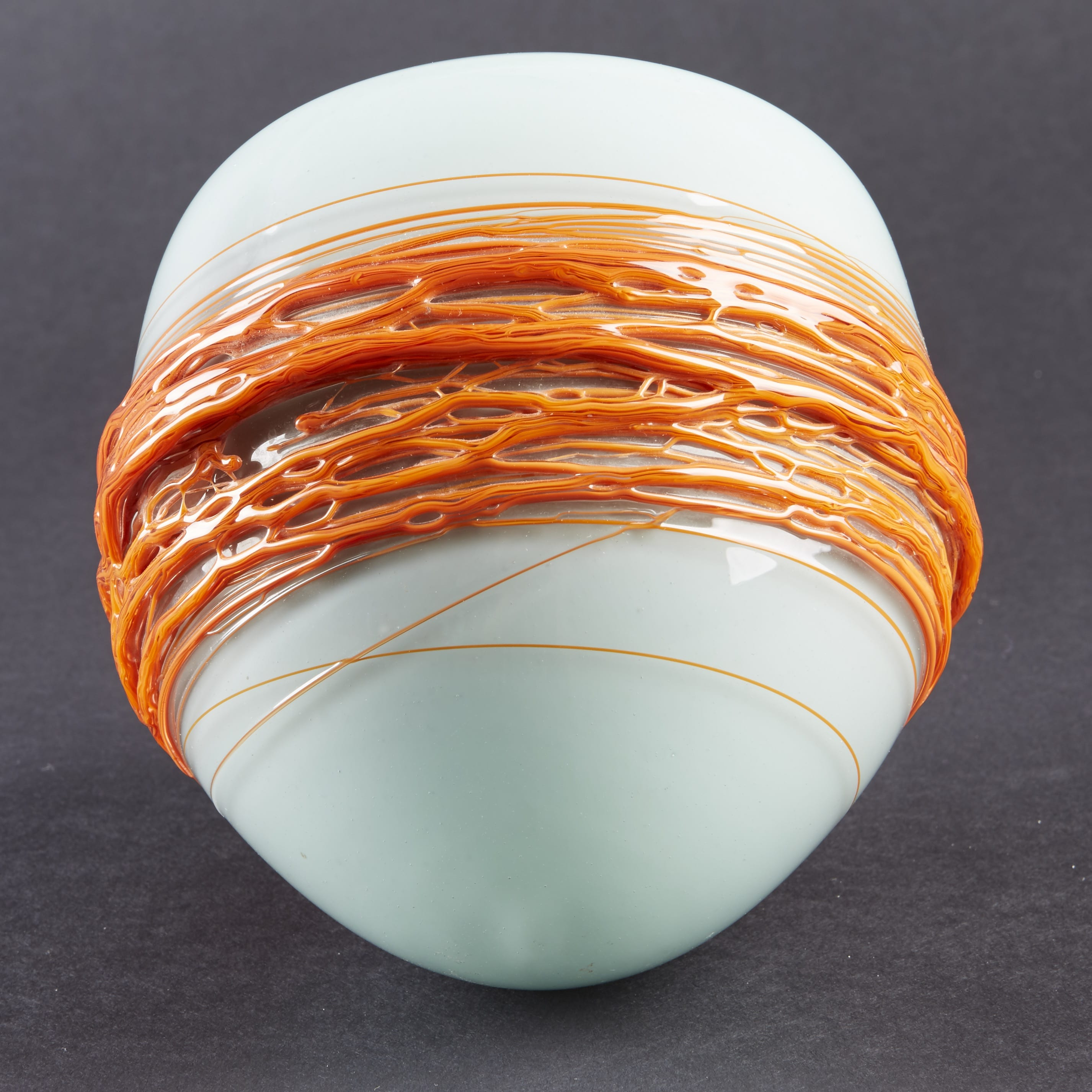 Lot 052: Mary Ann Toots Zynsky Glass Bowl