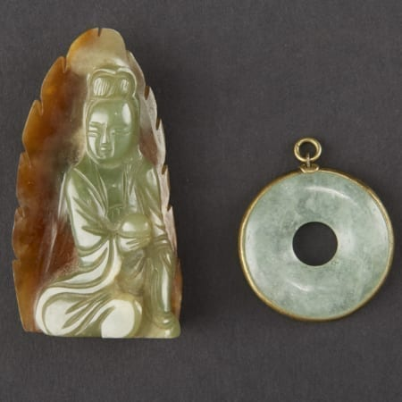 Lot 029: 2 Jade Pendants Asian Art and Decorative Art (Day Two) - Sep 29 2018 Asian Art