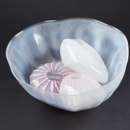 Lot 043: Chihuly 4 Piece Basket Set