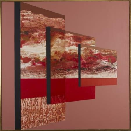 "Lot 001: James Twitty ""Regulus"" Acrylic on Canvas"