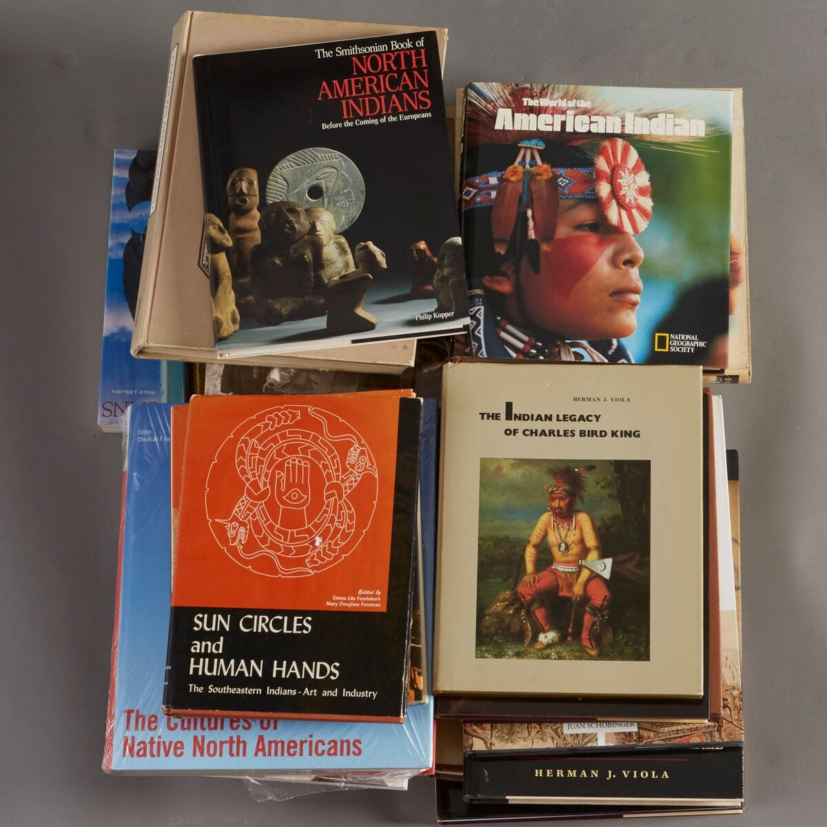 Lot 269: 28 Native American Reference Books