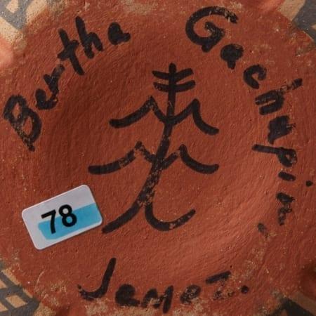Lot 014: 5 Santa Clara Redware Jars Tafoya Gachapin