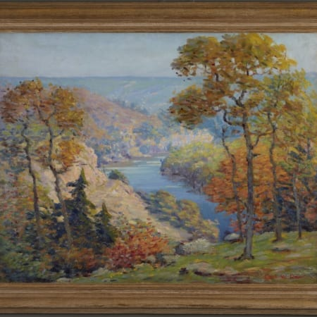 Lot 003: Carl Rawson St. Croix River Valley Oil on Canvas