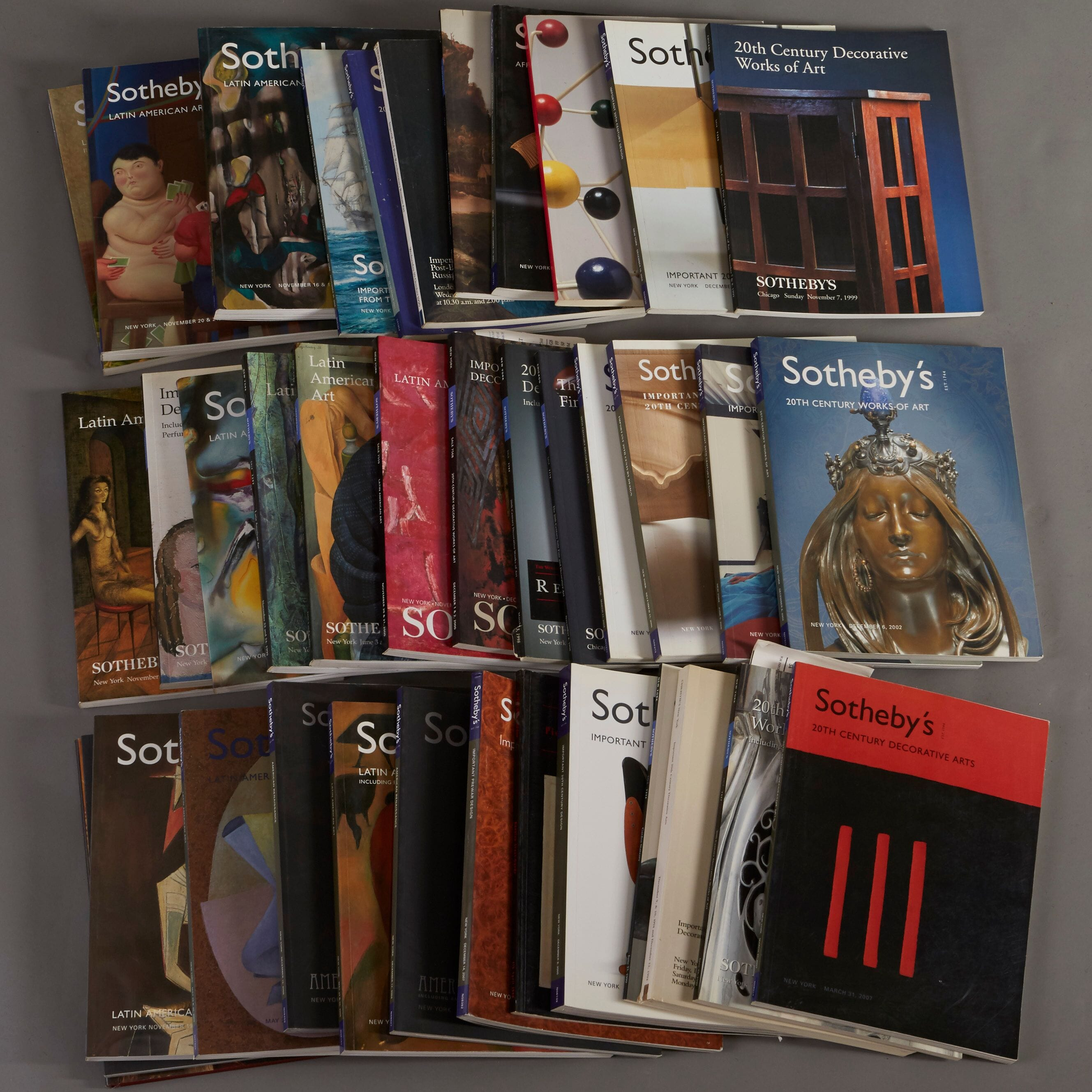 Lot 266: 36 Sotheby's Catalogs