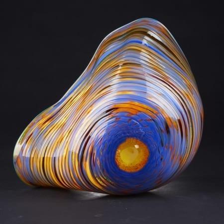 Lot 046: Chihuly Art Glass Bowl