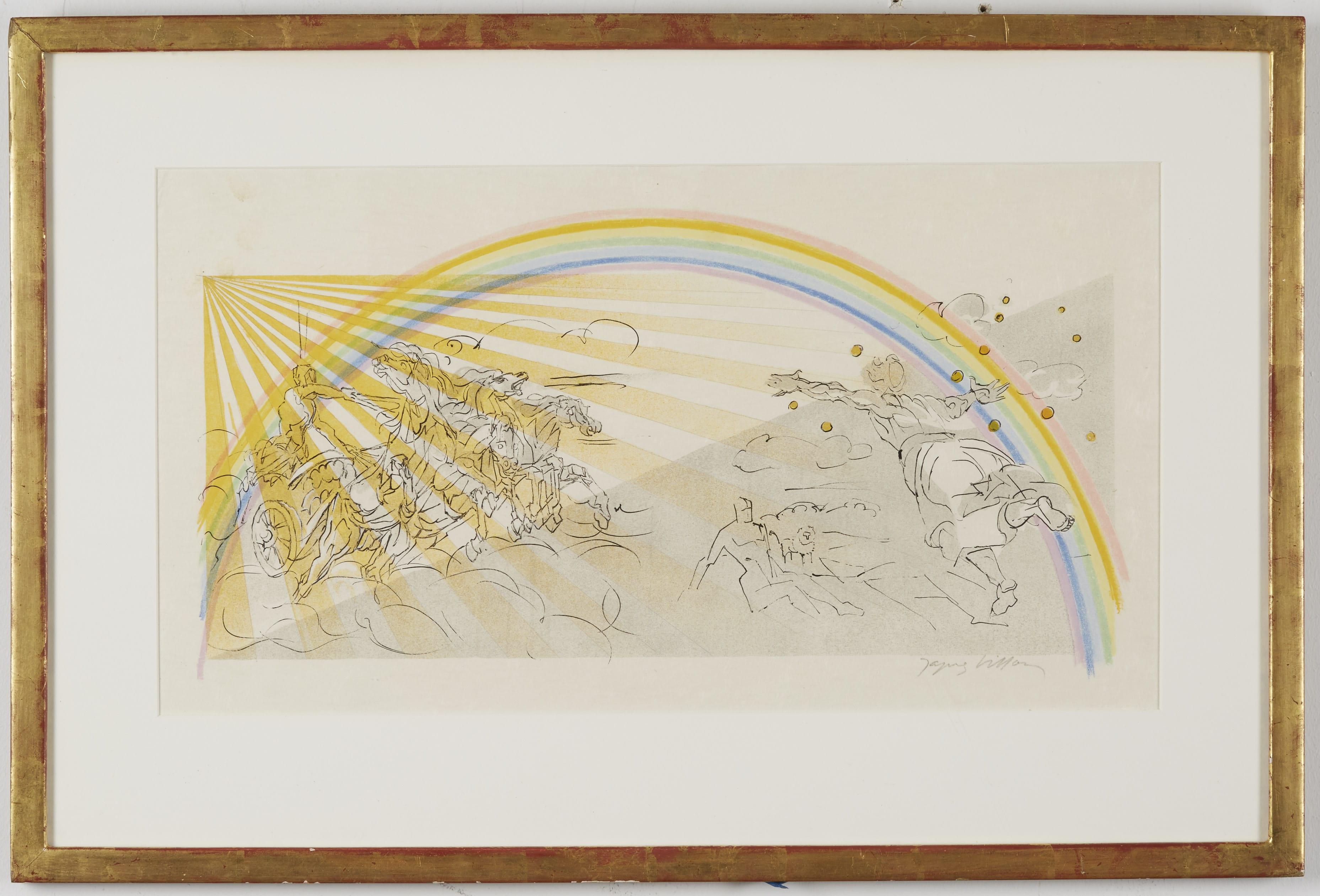 Lot 104: Jacques Villon Rainbow