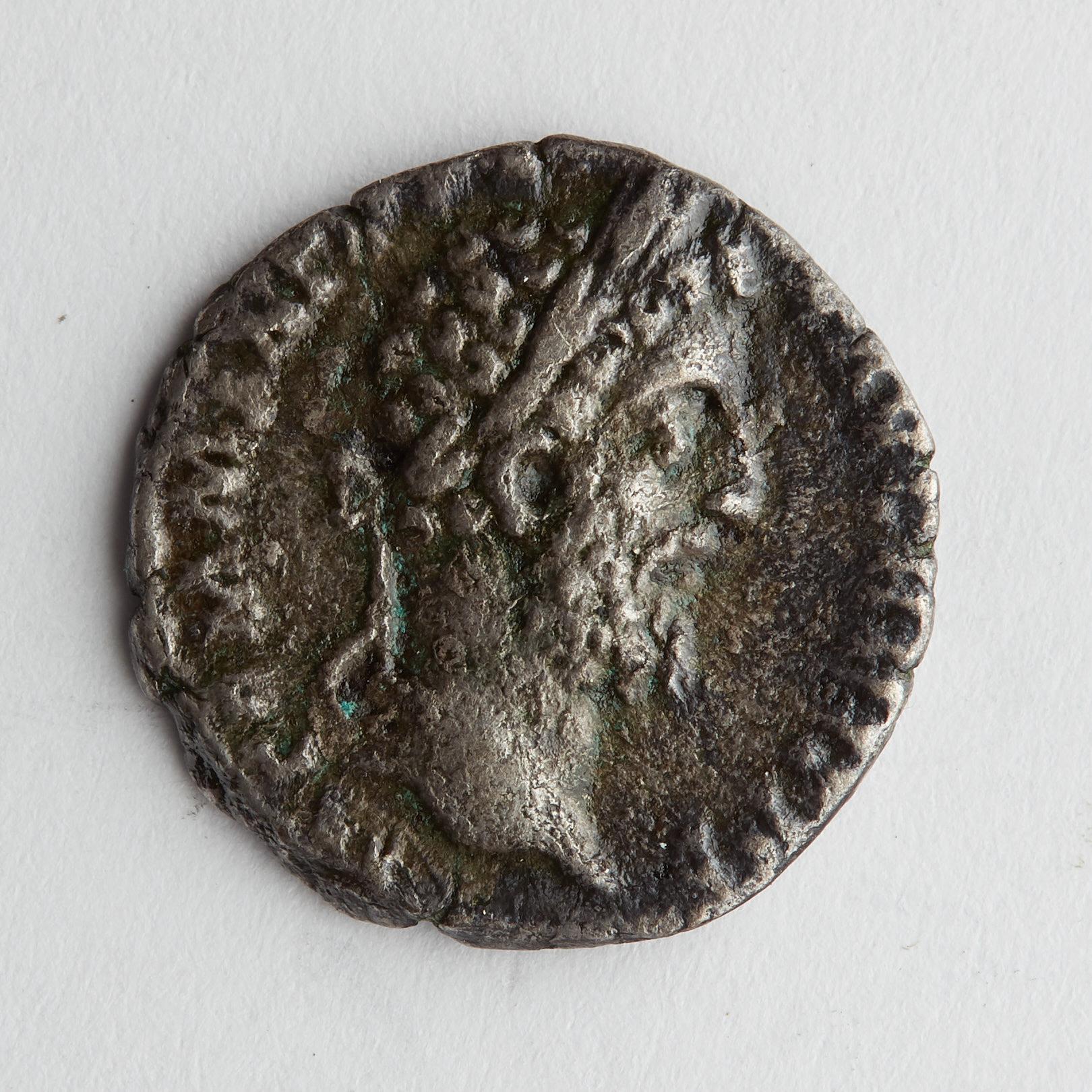 Lot 205: Grp: 4 Coins- 5 Cartwheel Penny - 5 kopek - tetradrachm - Danarius