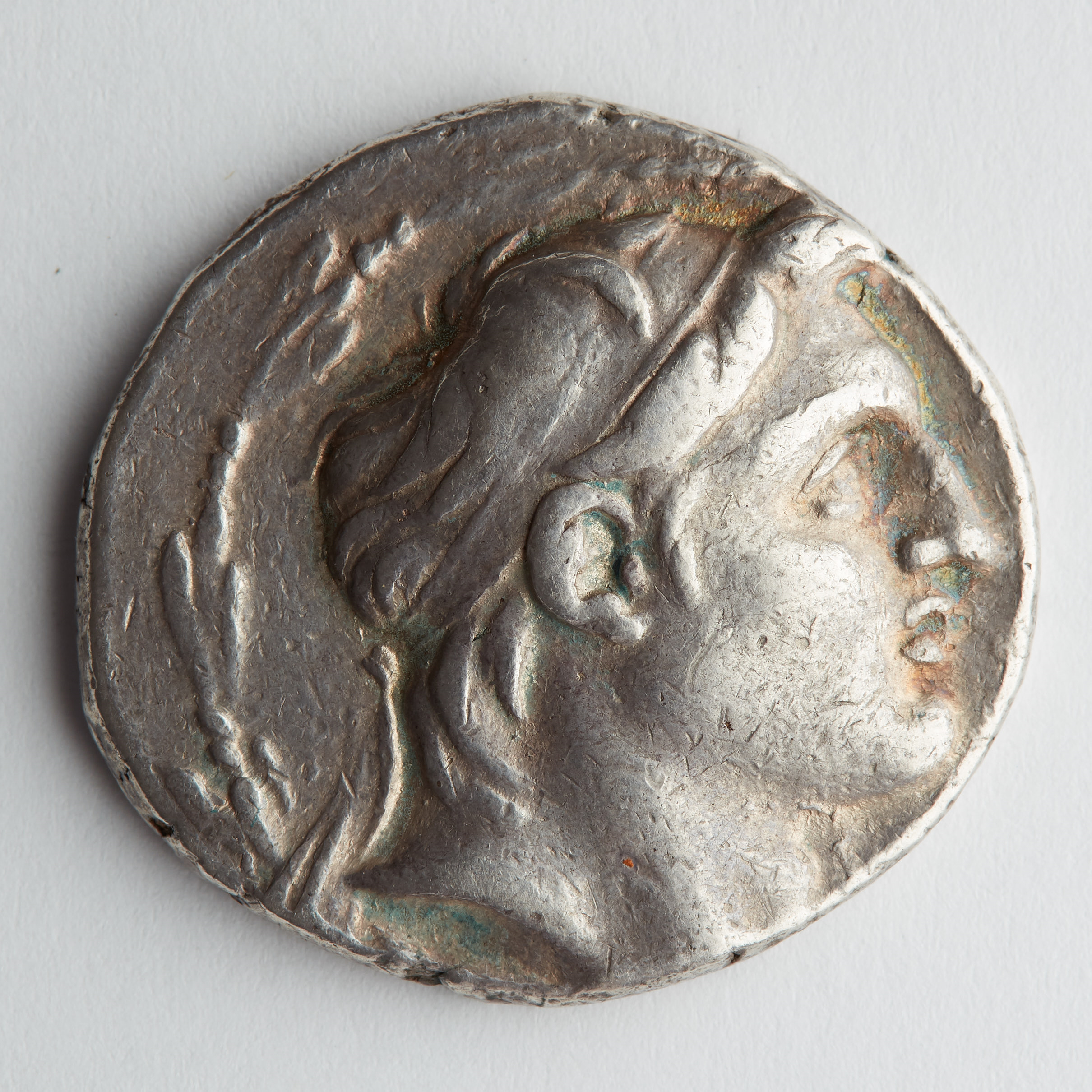 Lot 202: Ancient Greek Coin-Antiochus VII Tetradrachm