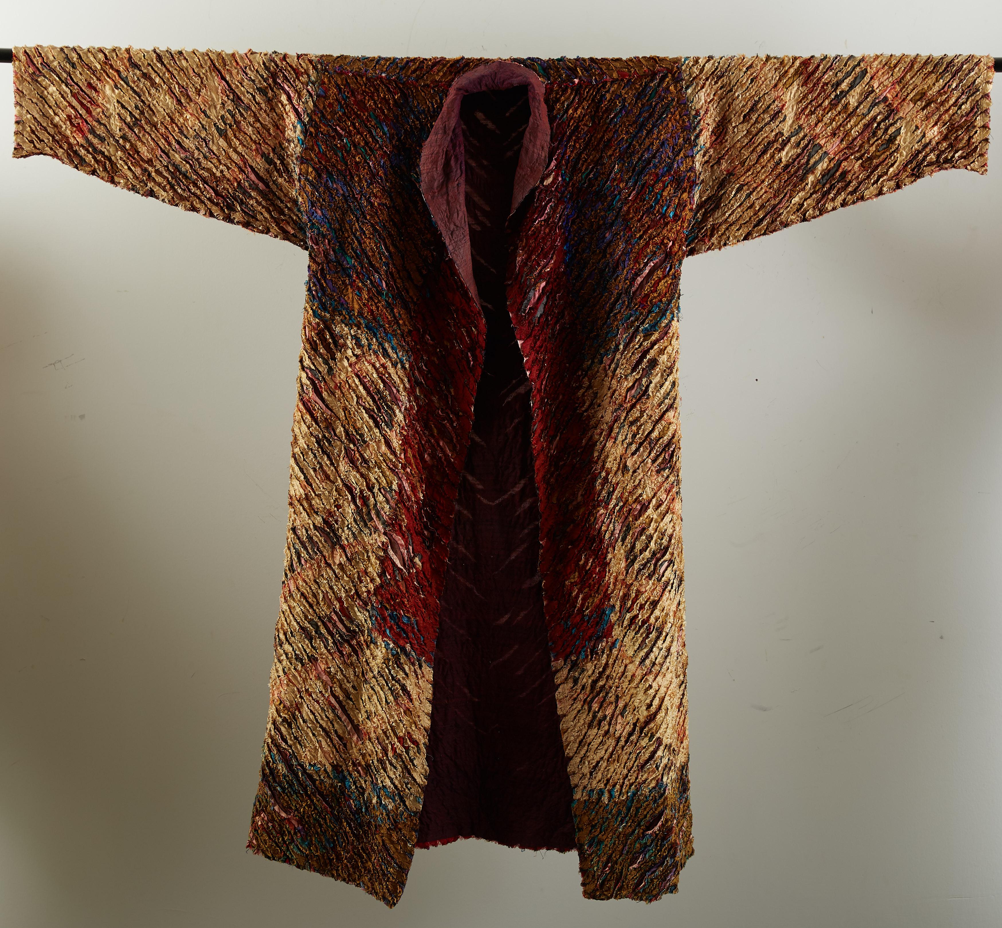 "Lot 030: Tim Harding ""Kimono"" Fiber Wall Hanging"