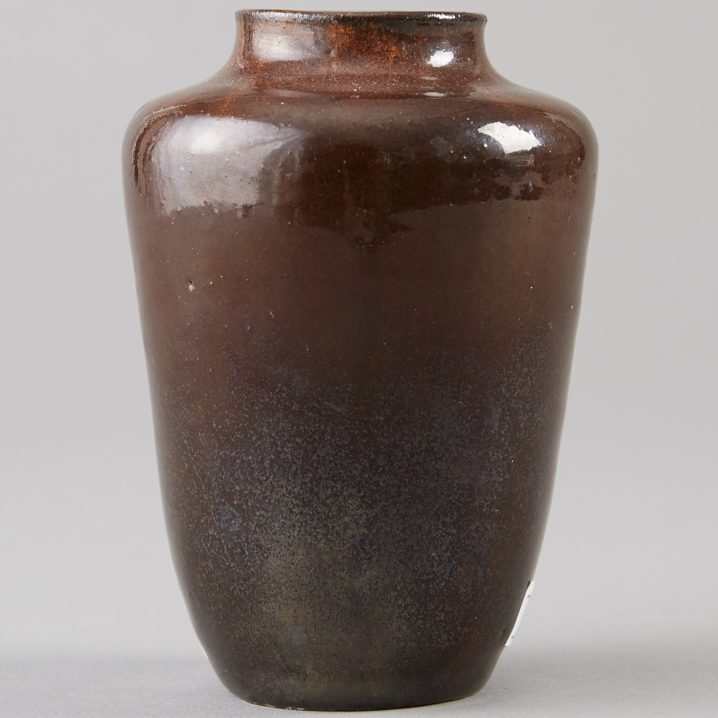 Lot 026: Richard Mutz Brown Ceramic Vase
