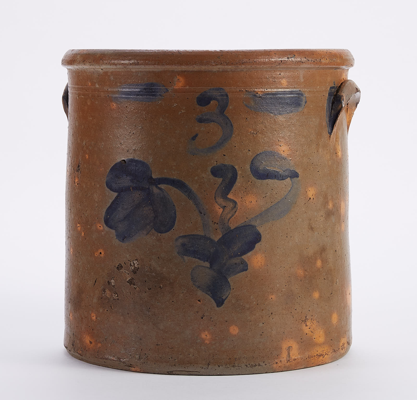 Lot 225: Pennsylvania Stoneware Crock